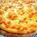 Easy Cheese Garlic Pizza