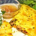 Vietnamese Yellow Pancake - Banh Xeo