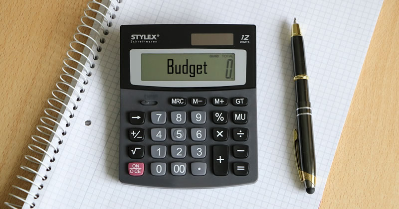 Budgeting is important!