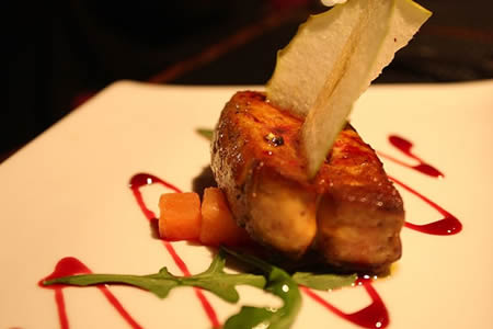 Beautiful Foie Gras Dish