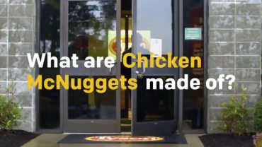 What are chicken mcnuggets made of?